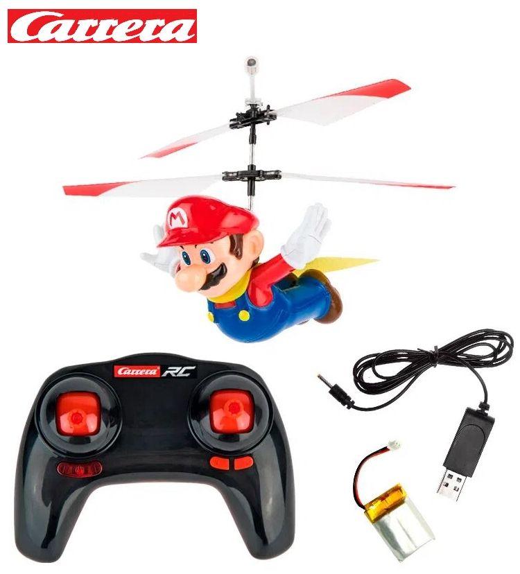 Oferta de Super Mario World, Mario volador 2 canales (2.4Ghz, batería Li-Po+cargador) por 29,99€