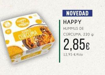 Oferta de Happy Hummus de cúrcuma, 220g. por 2,85€