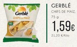 Oferta de Chips de maíz, 75 g. por 1,59€