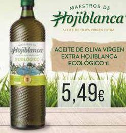 Oferta de Aceite de oliva  virgen extra Hojiblanca ecológico i L por 5,49€