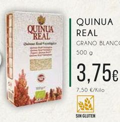 Oferta de Quinua real grano blanco, 500 g. por 3,75€