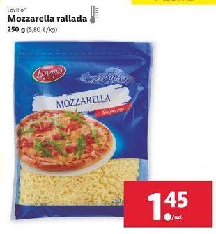 Oferta de Mozzarella lovilio por 1,45€