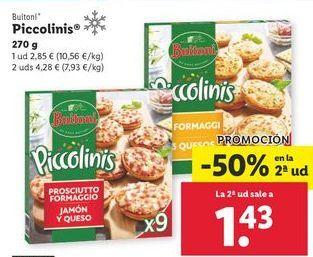Oferta de Piccolinis Buitoni por 2,85€