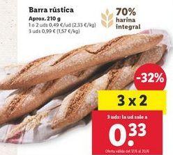 Oferta de Pan por 0,49€