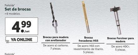 Oferta de Brocas Parkside por 4,99€