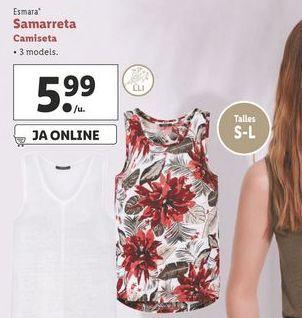 Oferta de Camiseta esmara por 5,99€