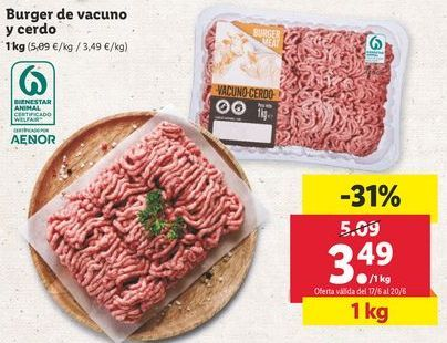 Oferta de Carne picada por 3,49€