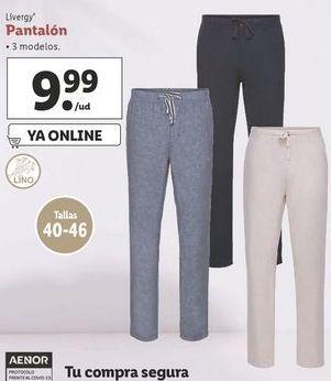 Oferta de Pantalones Livergy por 9,99€