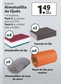 Oferta de Lija Parkside por 1,49€