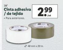 Oferta de Cinta adhesiva 3m por 2,99€