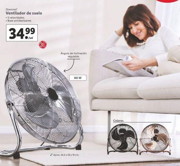 Oferta de Ventilador de suelo SilverCrest por 34,99€