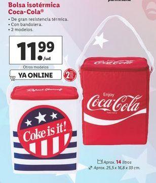 Oferta de Bolsa isotérmica Coca-Cola por 11,99€