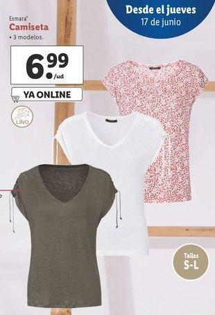 Oferta de Camiseta esmara por 6,99€