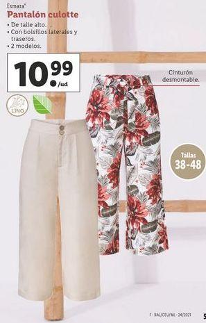 Oferta de Pantalones esmara por 10,99€
