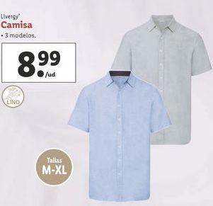 Oferta de Camisa Livergy por 8,99€