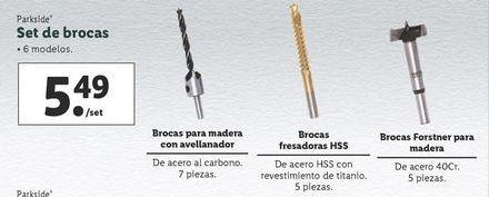 Oferta de Brocas Parkside por 5,49€