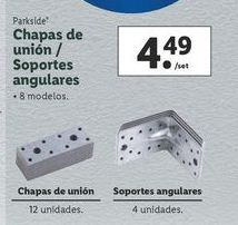 Oferta de Soportes Parkside por 4,49€