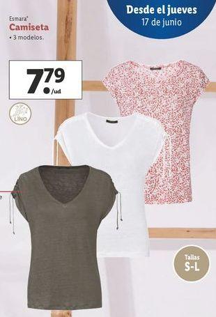 Oferta de Camiseta esmara por 7,79€