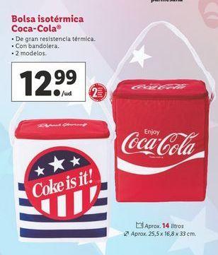 Oferta de Bolsa isotérmica Coca-Cola por 12,99€
