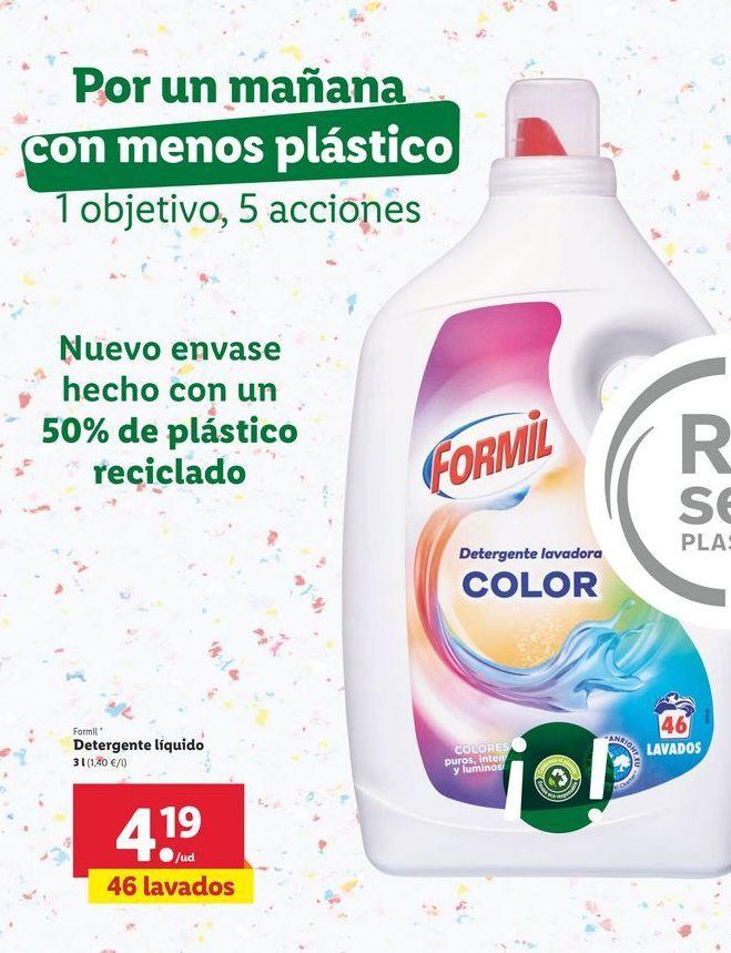 Oferta de Detergente líquido Formil por 4,19€