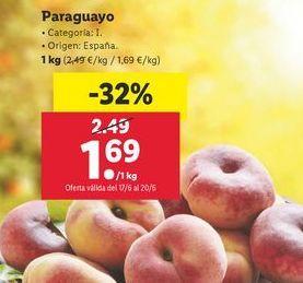 Oferta de Paraguayos por 1,69€