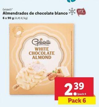 Oferta de Helados Gelatelli por 2,39€