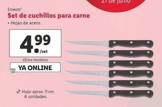 Oferta de Cuchillos ernesto por 4,99€