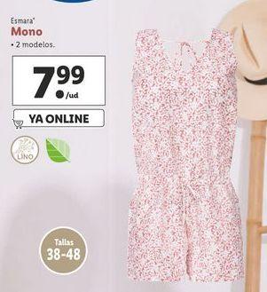 Oferta de Mono mujer esmara por 7,99€