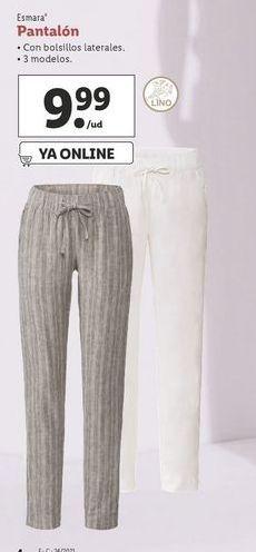 Oferta de Pantalones esmara por 9,99€