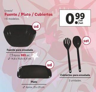 Oferta de Utensilios de cocina ernesto por 0,99€