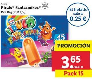 Oferta de Helados Nestlé por 3,65€