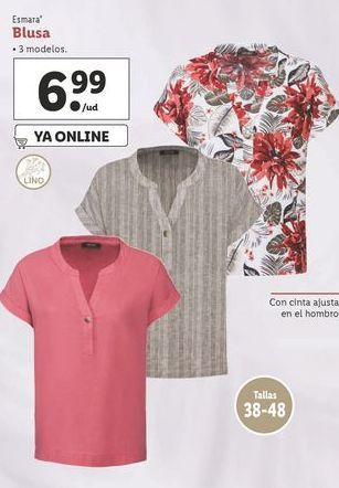 Oferta de Blusa esmara por 6,99€