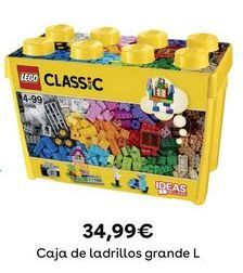 Oferta de Juguetes LEGO por 34,99€