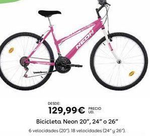 Oferta de Bicicletas por 129,99€