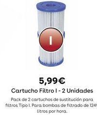 Oferta de Filtro para piscina por 5,99€