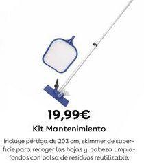 Oferta de Mantenimiento de piscinas por 19,99€