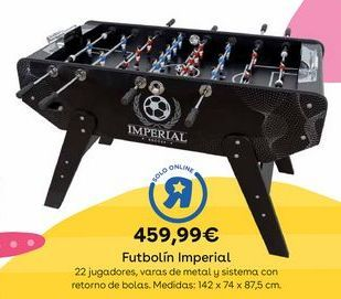 Oferta de Futbolín por 459,99€