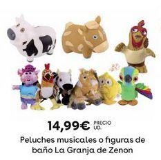 Oferta de Peluches musicales por 14,99€