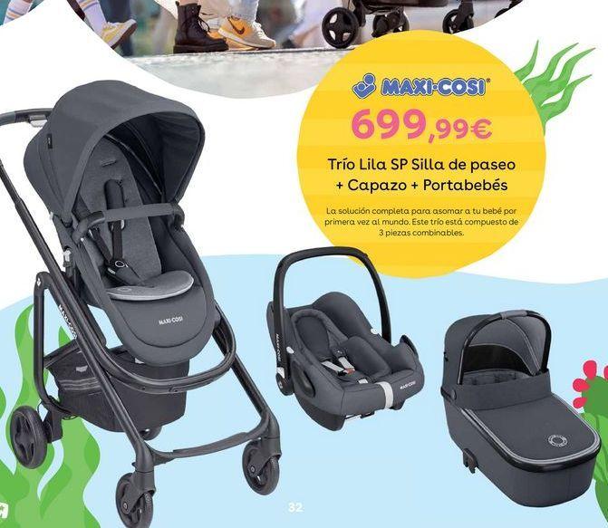 Oferta de Silla de paseo multiposiciones Maxi-Cosi por 699,99€