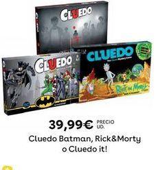 Oferta de Cluedo por 39,99€