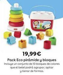 Oferta de Juguetes bebé Fisher-Price por 19,99€