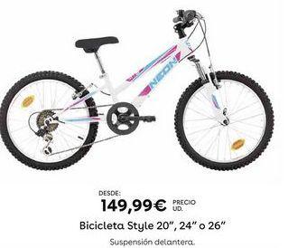 Oferta de Bicicletas por 149,99€