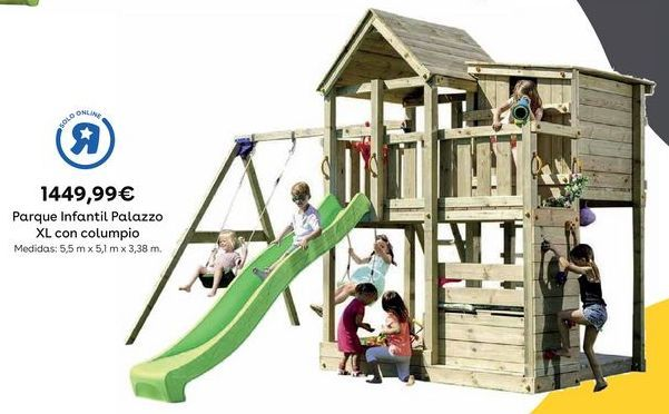 Oferta de Parque infantil por 1449,99€
