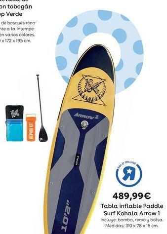 Oferta de Tabla de surf por 489,99€