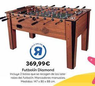 Oferta de Futbolín por 369,99€