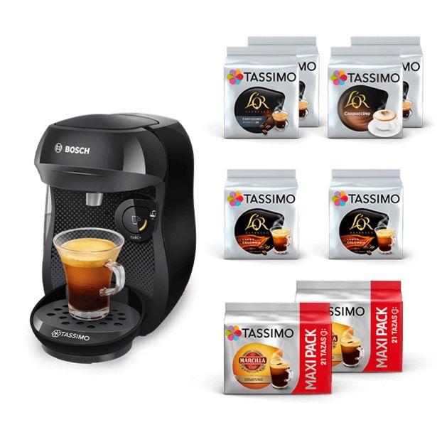 Oferta de Happy - Negro + Café negro y leches por 39,99€