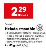 Oferta de Helados Gelatelli por 2,29€