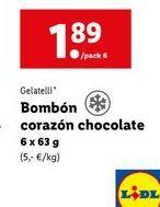 Oferta de Helados Gelatelli por 1,89€