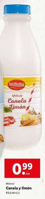 Oferta de Horchata Milbona por 0,99€