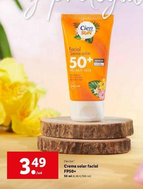 Oferta de Crema solar Cien por 3,49€